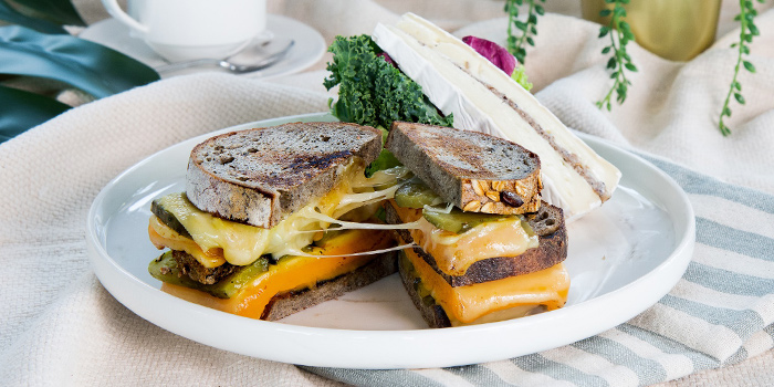 Truffle Grilled Cheese from Urbana Rooftop Bar at Courtyard by Marriott Singapore in Novena, Singapore