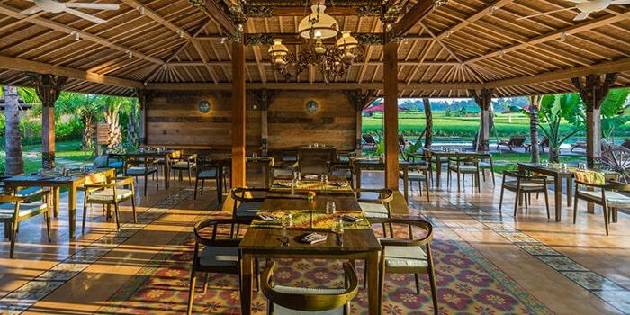 Interior from Wayang Restaurant, Ubud, Bali
