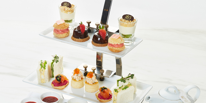 Selection of Scones from 1823 Tea Lounge by Ronnefeldt at Gaysorn Plaza G/F, 999 Phloen Chit Rd Bangkok