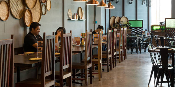 Ambience of Bangkok Bold Kitchen at Riverside Plaza Room 257/6, Fl 2, Charoennakorn Rd Samre, Thonburi Bangkok