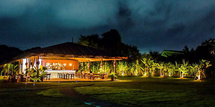 Atmosphere of Chalong Bay Distillery & Restaurant in Chalong, Phuket, Thailand