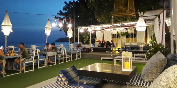 Atmosphere of Fish Bar & Restaurant in Rawai, Phuket, Thailand