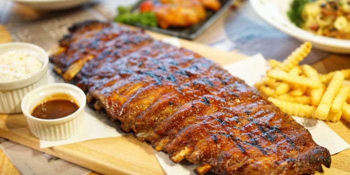 BBQ Pork Ribs from Lick Lips Bistro x Grill Bar at 379/8 Sukhumvit 63, Ekkamai Rd Khlongton Nua, Wattana Bangkok