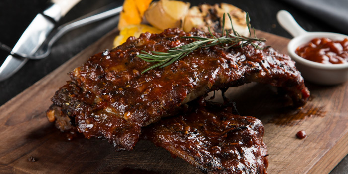 BBQ Pork Ribs from Journey Of Meats at 9 Ramkhamhaeng 24 yak 20 (Rama IX soi 41) Bangkok