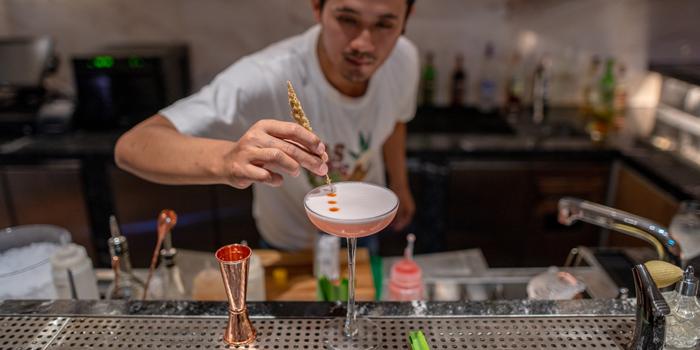 Bartender of Pots Pints & Tikis in Patong, Phuket, Thailand