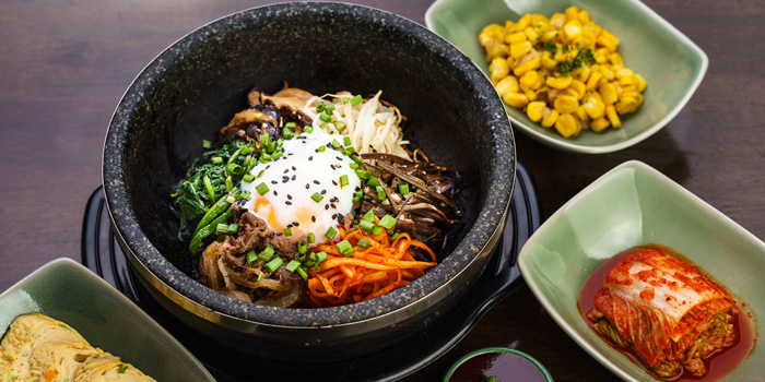 Bibimbub from Banjoo BBQ at Mille Malle 2nd Fl 66/4,201 Sukhumvit 20 Alley, Khlong Toei Bangkok