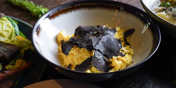 Black Truffle with Egg, Emporio Antico Exotic Fine Food, Wan Chai, Hong Kong