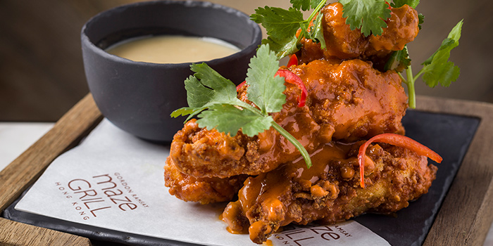 Buffalo Chicken Fillet, maze Grill, Tsim Sha Tsui, Hong Kong