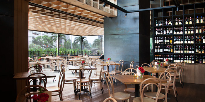 Interior 1 at Cork & Screw Pacific Place, Jakarta