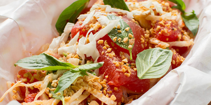 Thai Watermelon Salad from Camp Kilo Charcoal Club in Lavender, Singapore