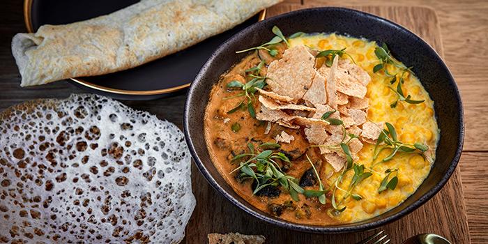 Corn Kichdi with Mushroom Curry, VEDA, Central, Hong Kong