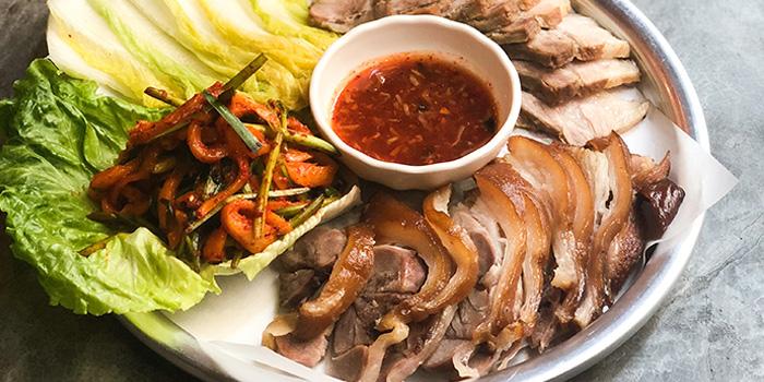 Pork Belly Pork Trotter Combo, SSAL BORI SSAL, Tsim Sha Tsui, Hong Kong