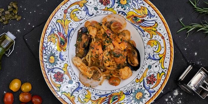 Food from Bene Italian Kitchen, Kuta, Bali