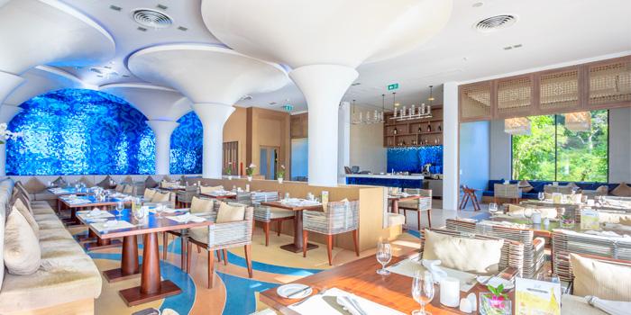 Atmosphere of Vista Restaurant in Patong, Phuket, Thailand