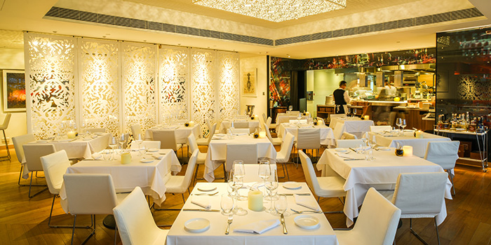Dining Area, Isola Bar & Grill, Central, Hong Kong