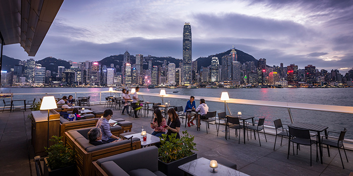 Dining Area, maze Grill, Tsim Sha Tsui, Hong Kong