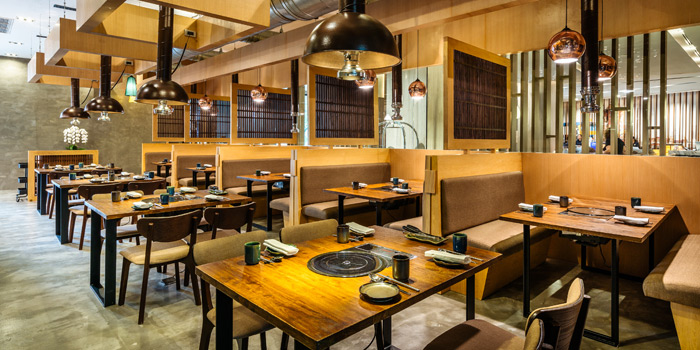 Dining Area of Charm Korean Steakhouse at Novotel Bangkok Sukumvit 20 19/9 Soi Sukhumvit 20 Sukhumvit Rd, Khlong Toei Bangkok