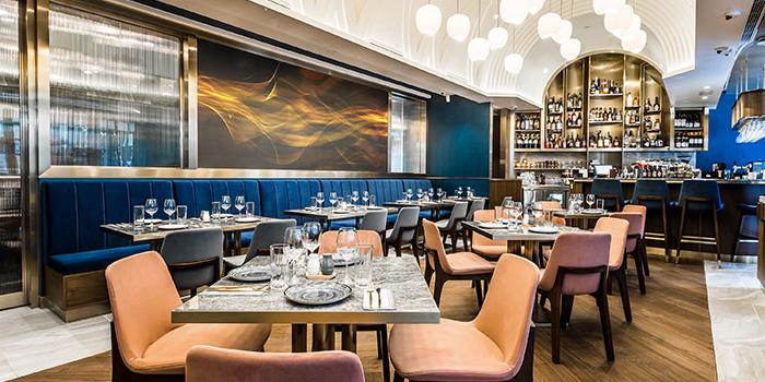 Dining Area, AHA Restaurant & Bar, Central, Hong Kong