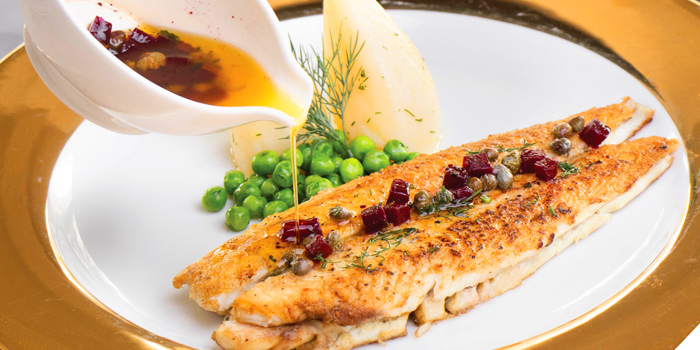 Dover Sole from Brasserie 9 at 27 Soi Piphat North Sathorn Road, Silom Bang Rad, Bangkok