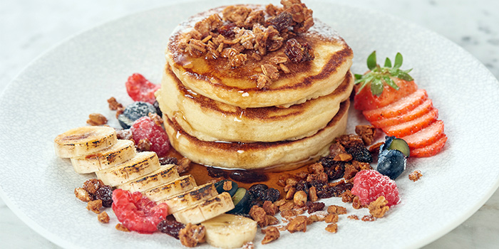 Fluffy Pancakes from SPRMRKT At Cluny Court in Bukit Timah, Singapore