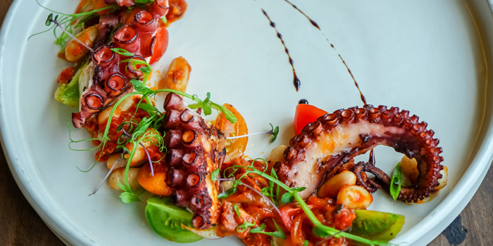 Galician Octopus from Riedel Wine Bar & Cellar at Gaysorn Village, Bangkok