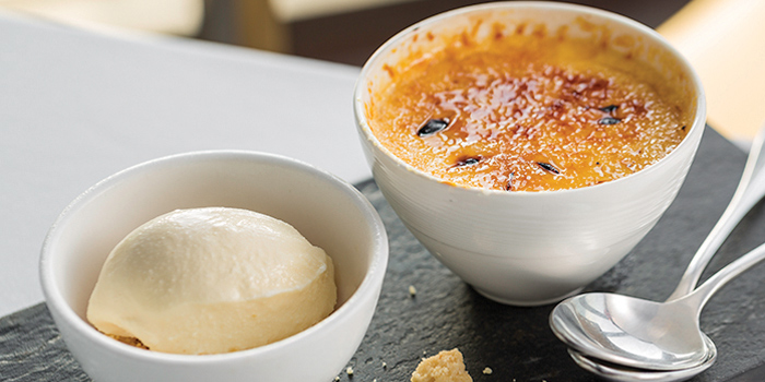 Grand-Marnier-Cream-Brulee from Sunset Grill in Kamala, Phuket, Thailand