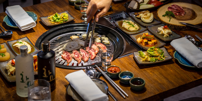 Grilled Dishes from Charm Korean Steakhouse at Novotel Bangkok Sukumvit 20 19/9 Soi Sukhumvit 20 Sukhumvit Rd, Khlong Toei Bangkok