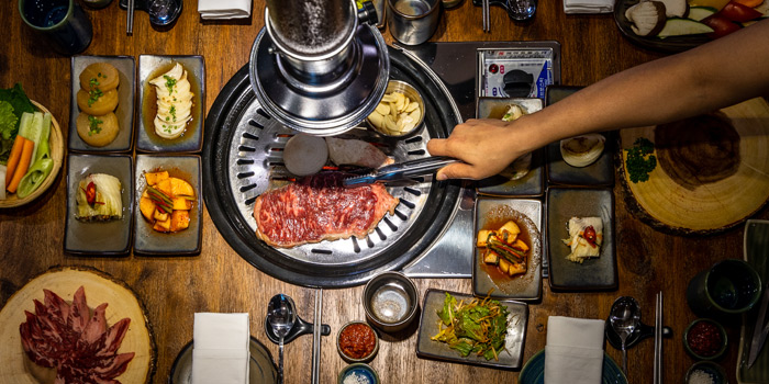 Grilled from Charm Korean Steakhouse at Novotel Bangkok Sukumvit 20 19/9 Soi Sukhumvit 20 Sukhumvit Rd, Khlong Toei Bangkok