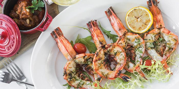 Grilled-Andaman-Sea-King-prawns from Sunset Grill in Kamala, Phuket, Thailand