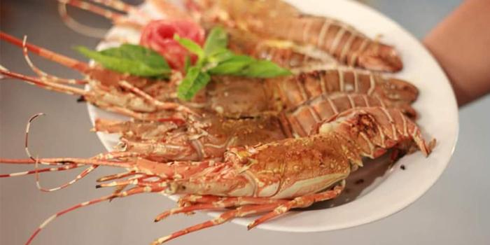 Grilled-Praw from Fish Bar & Restaurant in Rawai, Phuket, Thailand