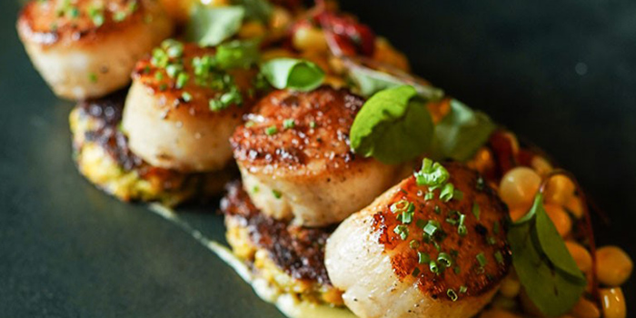 Grilled Scallop, Emporio Antico Exotic Fine Food, Wan Chai, Hong Kong