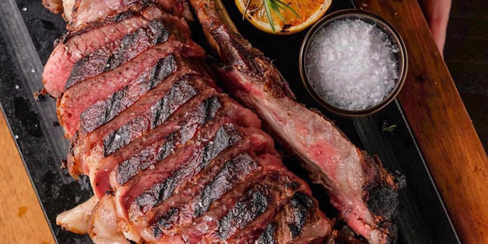 Grilled Tomahawk at Collin