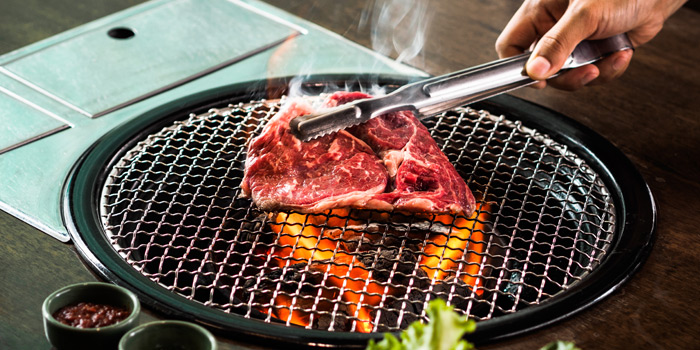 Grilled Dishes from Charm Korean Steakhouse at Novotel Bangkok Sukumvit 20 19/9 Soi Sukhumvit 20 Sukhumvit Rd, Khlong Toei Bangkok