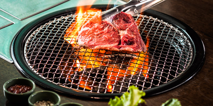 Grilled Dishes from Banjoo BBQ at Mille Malle 2nd Fl 66/4,201 Sukhumvit 20 Alley, Khlong Toei Bangkok
