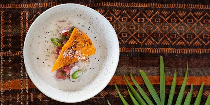 Food from Mana Uluwatu, Bali