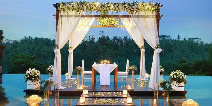 Romantic Dinner at the Amateras Ubud