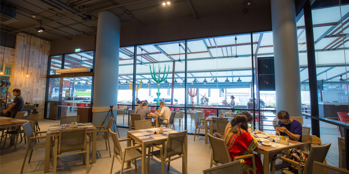 Indoor of Beyond Seafood Restaurant in Patong, Phuket, Thailand