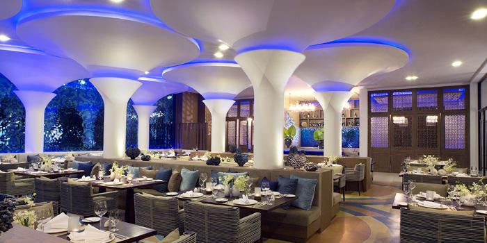 Interior of Vista Restaurant in Patong, Phuket, Thailand