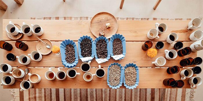Coffee from Zin Cafe Canggu, Bali