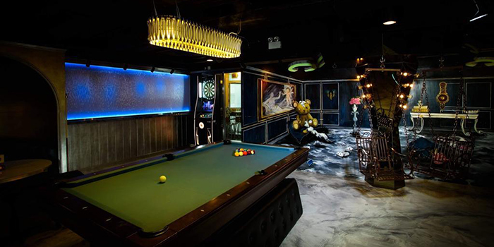 Interior, Badroom Bar & Restaurant, Tsim Sha Tsui, Hong Kong