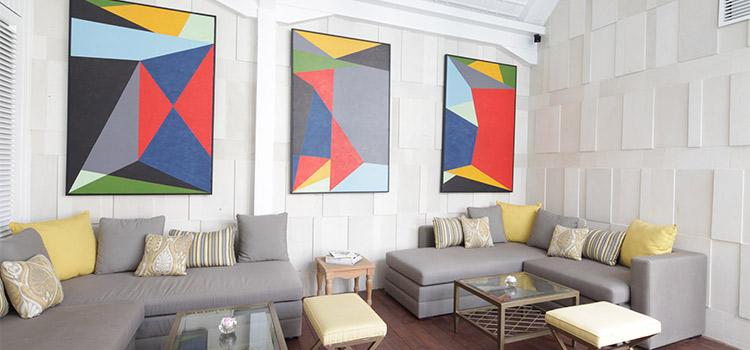 Indoor Area at La Vue Rooftop Bar by The Hermitage Jakarta