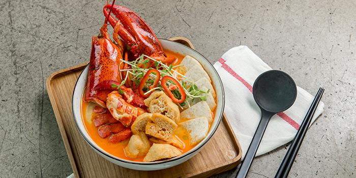 Lobster Laksa Soup Udon, Greenhouse, Causeway Bay, Hong Kong