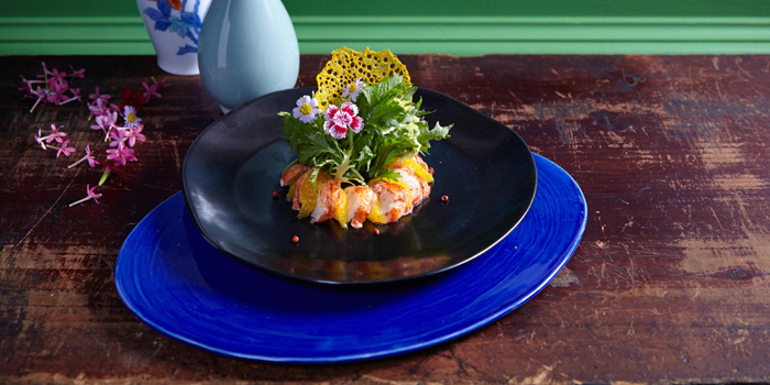 Lobster Salad from Tenshino at Pullman Bangkok King Power Hotel 8/2 Rangnam Road Thanon-Phayathai, Ratchathewi, Bangkok