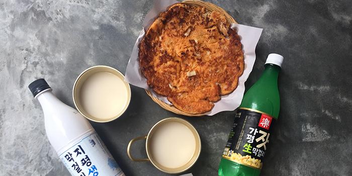 Makgeolli and Pancake, SSAL BORI SSAL, Tsim Sha Tsui, Hong Kong