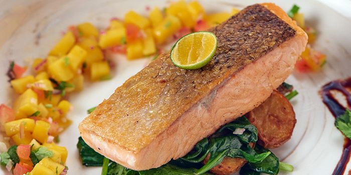 Mango Salmon from SPRMRKT At Cluny Court in Bukit Timah, Singapore