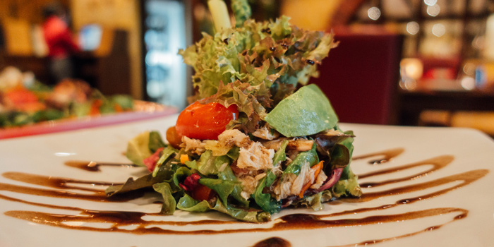 Mixed Young Salad with Sea Crab from Rossano