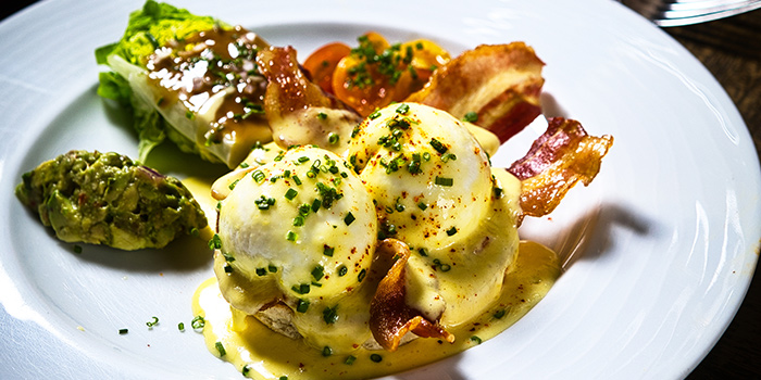 Organic Eggs Benedict from Bar-Roque Grill in Tanjong Pagar, Singapore