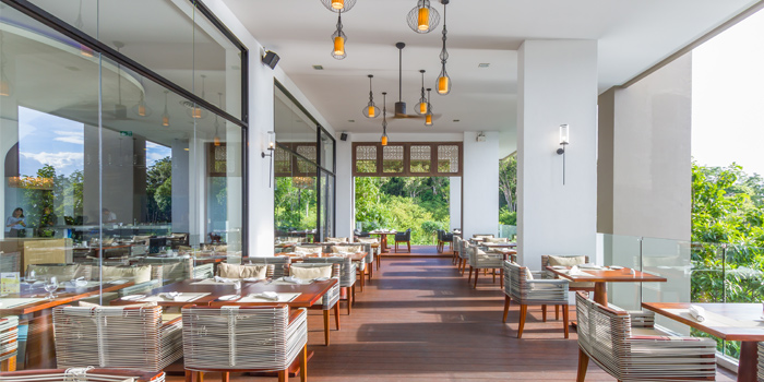 Outdoor of Vista Restaurant in Patong, Phuket, Thailand