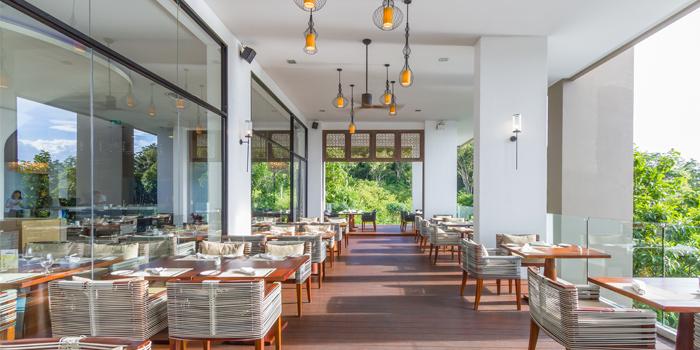 Outdoor of Vista Restaurant in Patong, Phuket, Thailand