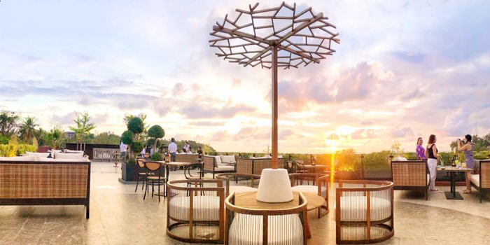 Rooftop of The Dim Sun-Rooftop Bar in Karon, Thailand